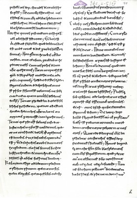 The oldest document which contains the Slav name of Belgrade. Original is preserved in the Vatican Secret Archives, 878, IAB, Zfk. (Page 2)