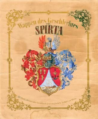 Charter issued by Emperor Francis Joseph I ennobling Pavel Georgije Spirta, Vienna, 1856, IAB, ZDUP. (Page 1)