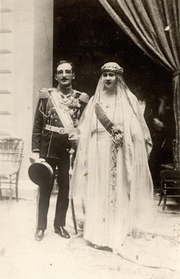 The wedding of King Aleksandar and Queen Marija Karadjordjević, Belgrade, 1922, PfG.