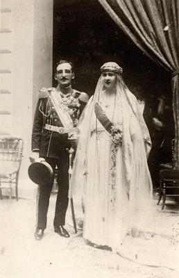 Венчање краља Александра и краљице Марије Карађорђевић, Београд, 1922, ИАБ, Пф Г.