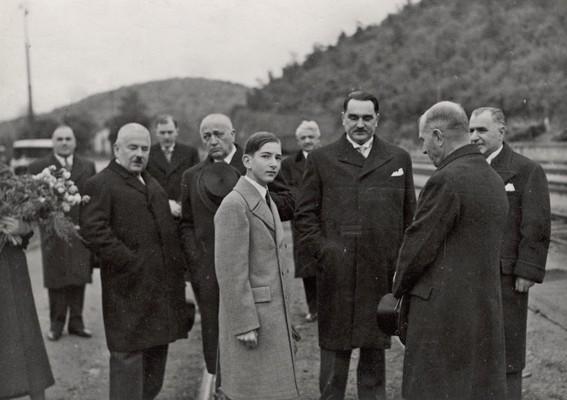 Краљ Петар II Карађорђевић у Топчидеру, Београд, 1938, ИАБ, Лф НС.