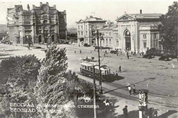 Главна железничка станица у Београду, ИАБ, Зф.