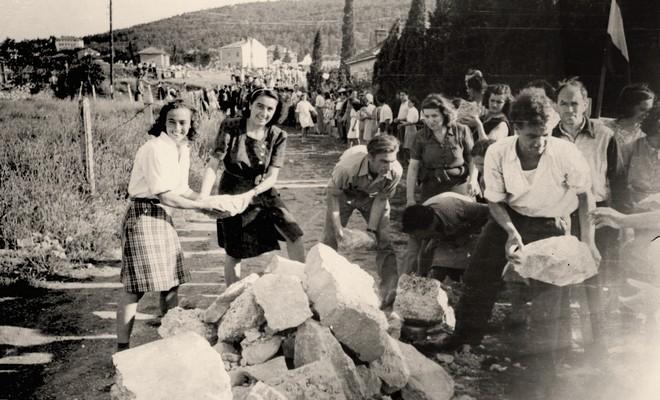 Work campaigns in a liberated city, 1944, IAB, Zf RP i NOB i socijalističke izgradnje.