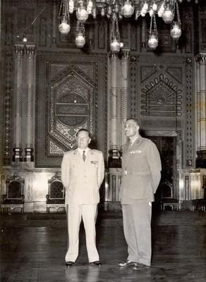 Tito and Gamal Abdel Nasser, Cairo, 1956, IAB, Legat Koče Popovića.