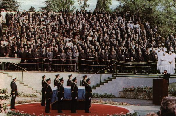 The funeral of Josip Broz Tito, Belgrade, 1980, IAB, ZŠT Živka Jovanovića.