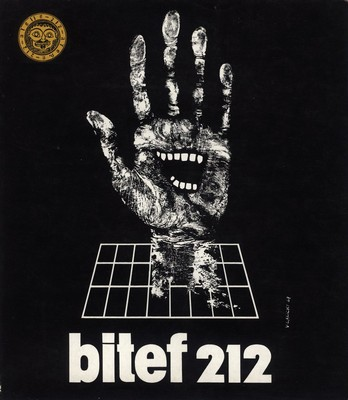 Poster for the first BITEF, Belgrade, 1967, IAB, BITEF.