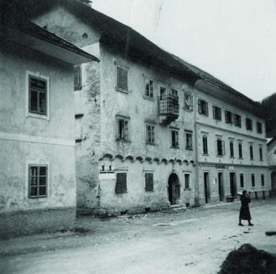 Family house Plavc in Železniki, Slovenia (todays Museum Železniki, Plavc House), IAB, Pf Plauc.