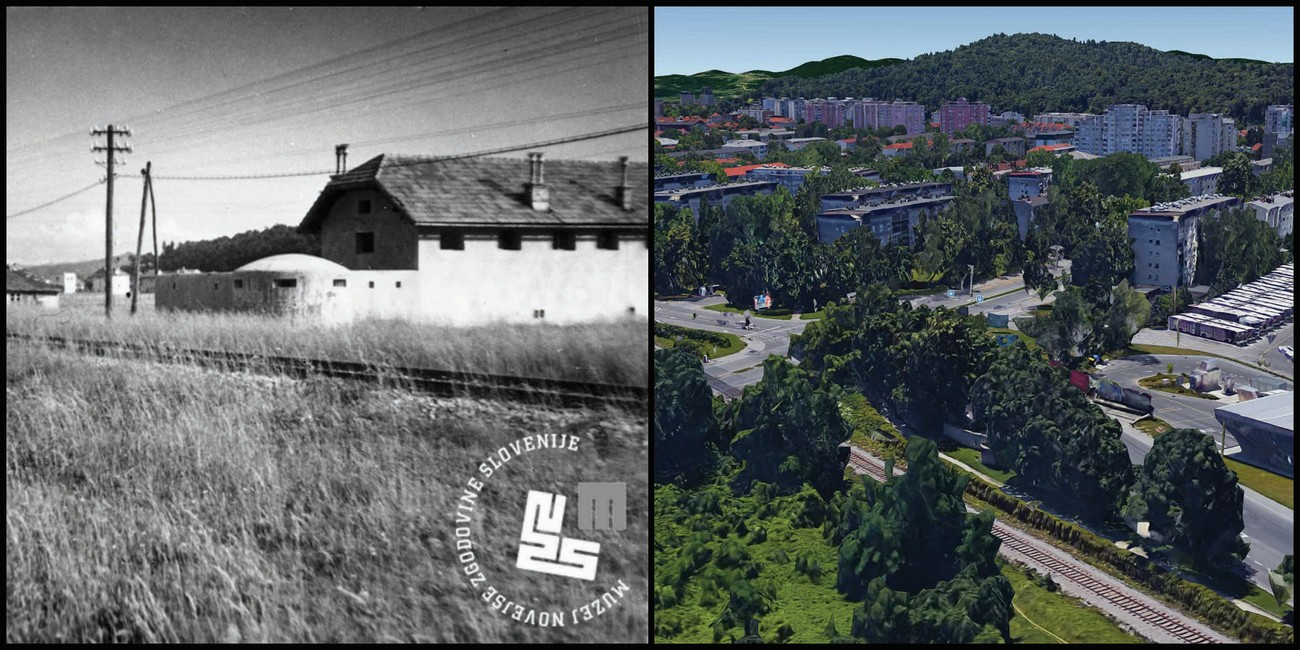 2: The bunker along the railway to Upper Carniola at today's crossroads of Litostrojska cesta and Cesta Ljubljanske brigade roads was an integral part of the fortified positions of wired Ljubljana. Author: Jakob Prešern. MNZS.