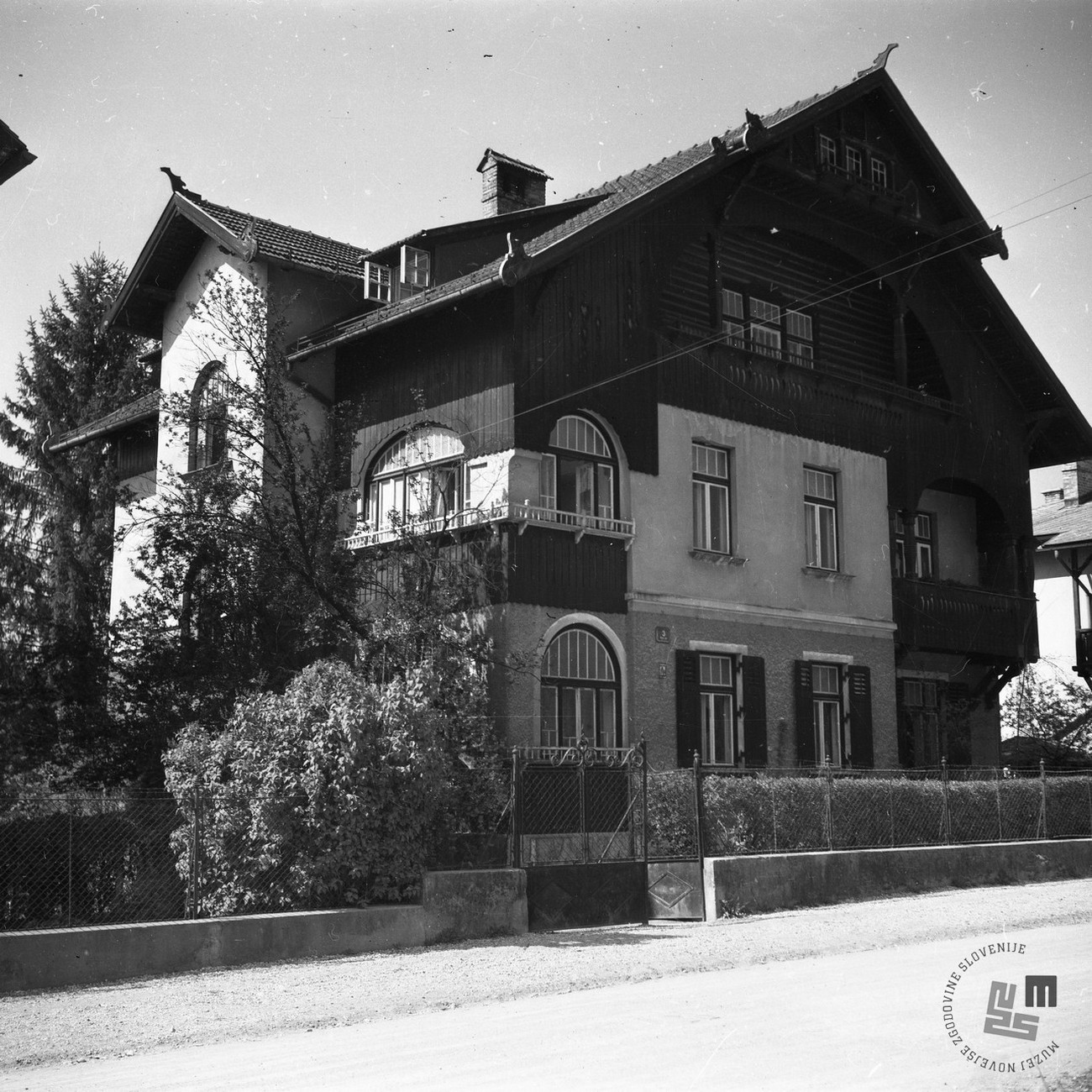 House of Josip Vidmar in Ljubljana where The Liberation Front of the Slovene Nation was established on 26/27 April 1941. Author: Jože Kološa. MNZS.