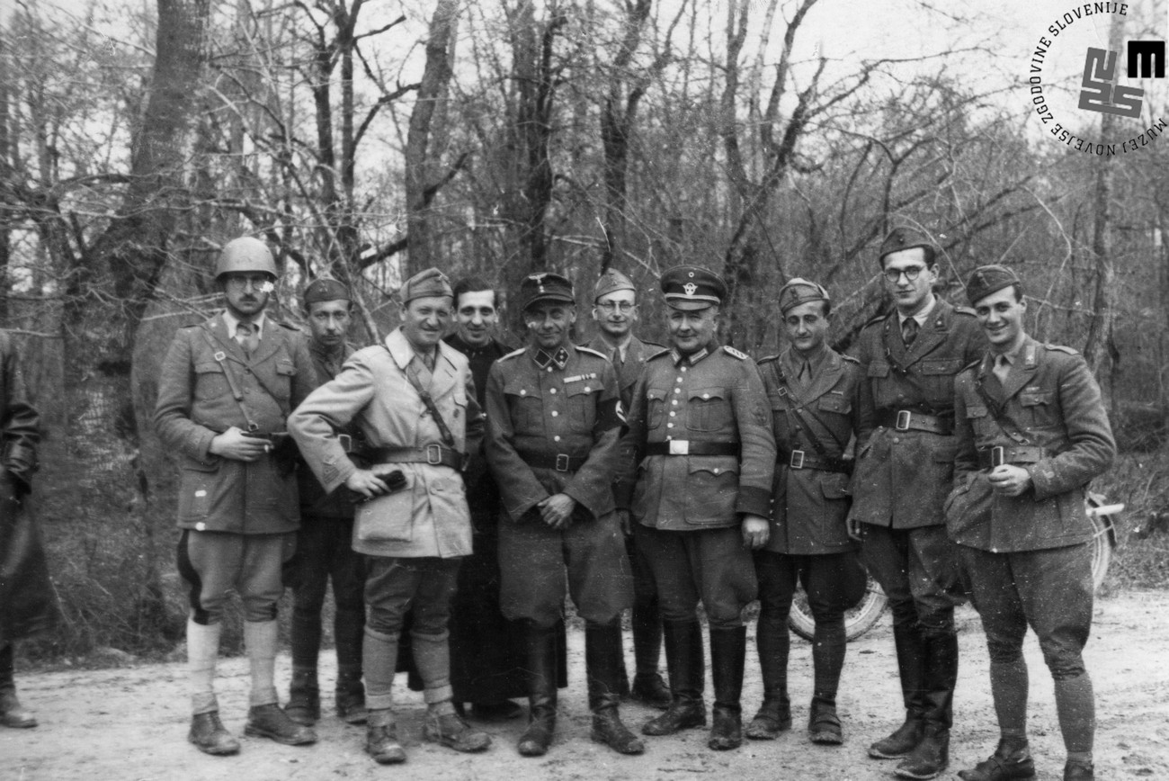 Germans and Italians in Raka. MNZS.