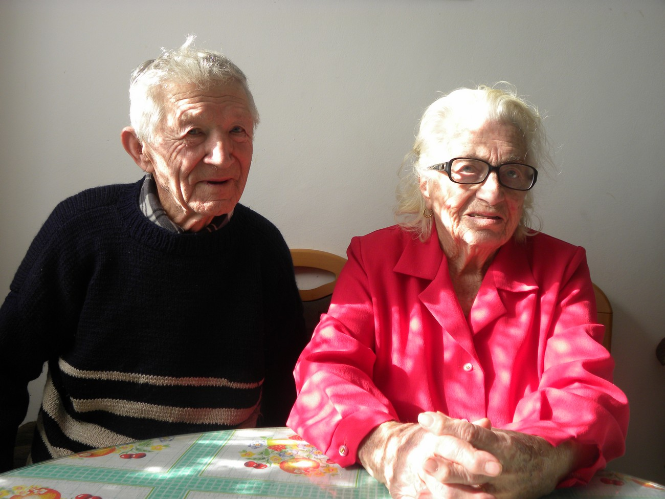 Mihael (born 1932) and Ana Rukše (born 1928) remember that Germans were the first to arrive in Gabrje in April 1941. Some of the locals ordered all the houses in the village to hang out German flags. Two triumphal arches were set up and two maypoles with a board between them inscribed with »Heil Hitler«. The people of Gabrje did that in fear of what was to come. People were asked to greet the Germans especially by those who had worked in Germany before the war, where they earned enough money to enable a better life for their families at home. They thought that once these parts were occupied by Germans, the people would get jobs and better living conditions. They soon realised that was not the case and the people of Gabrje started supporting the Partisans. Partisan units often stayed in the village and its surroundings during the war. Author: Blaž Štangelj.