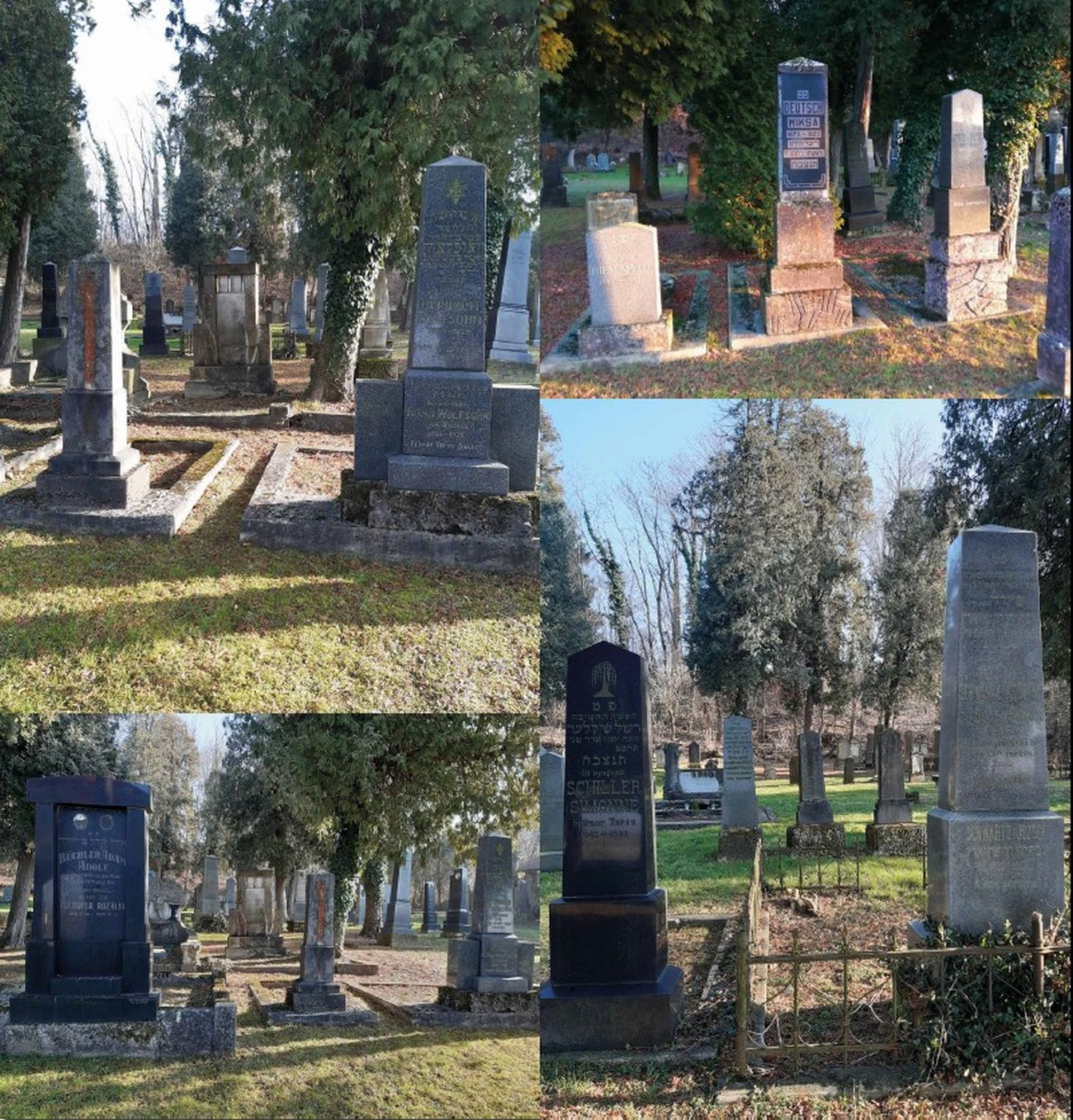 The Jewish cemetery in Lendava where the local Jews and the Jews from surrounding villages are buried. Author: Attila Kovács.